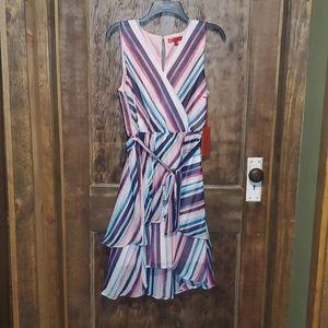 Jennifer Lopez striped dress Medium NWT
